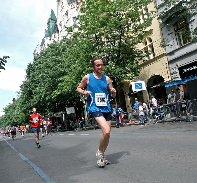 Tomáš Šponar:  Jak jsem začal..  běhat